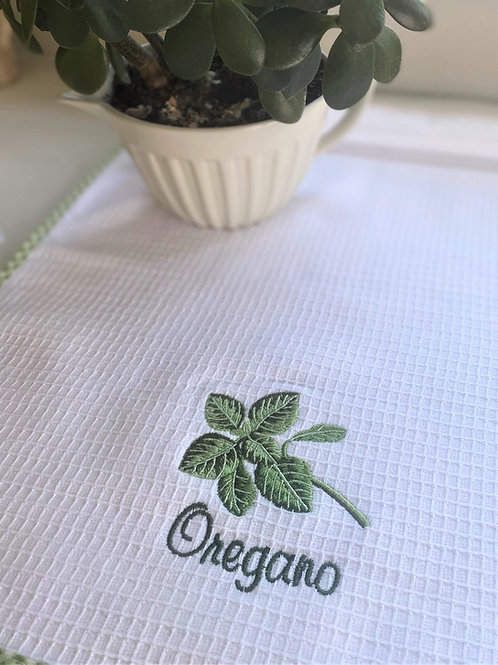 Oregano Tea Towel
