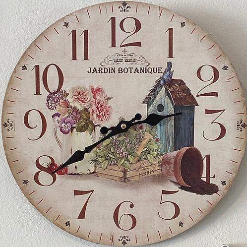 Jardin Botanique Clock