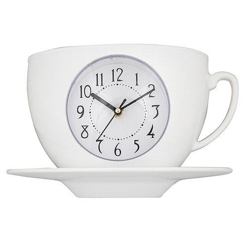 Tearoom Cup & Saucer Clock