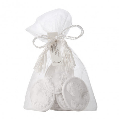 Marquise - Organza bag with 7 perfumed medallions