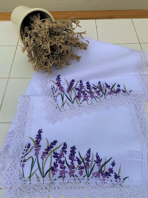 Lavender Runner and 2 Doyleys