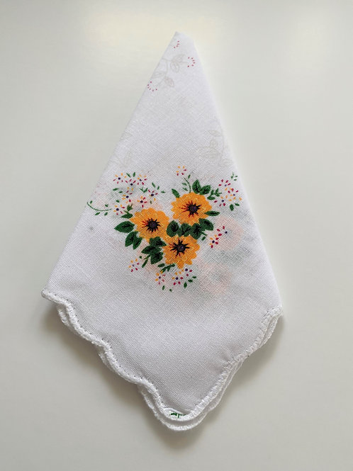 Sunflower Handkerchief