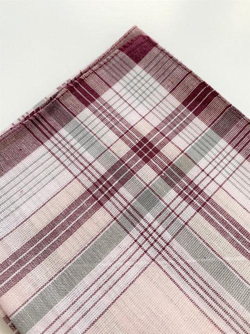 Burgundy Handkerchief For Men