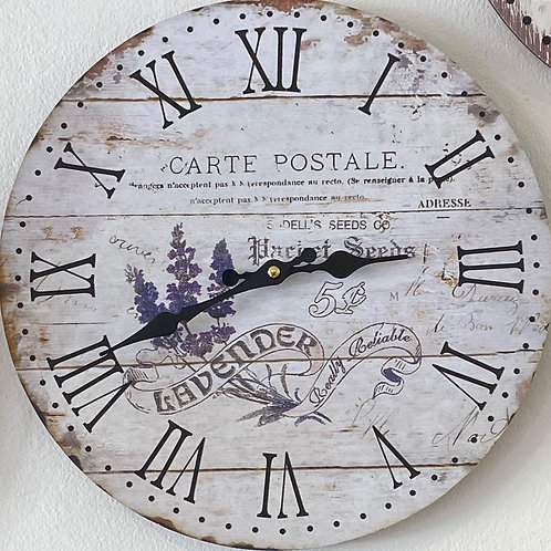 Carte Postale Clock