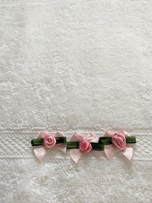 Pink Roses Towel