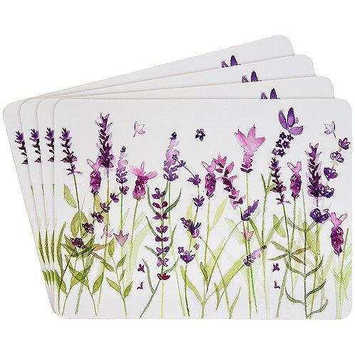 Purple Lavender Tablemat  Set of 4