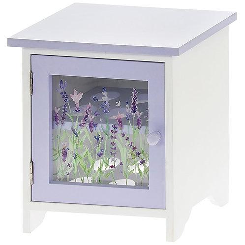 Purple Lavender Egg Cabinet