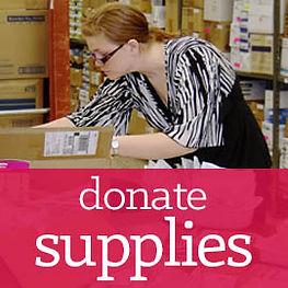 donates supplies