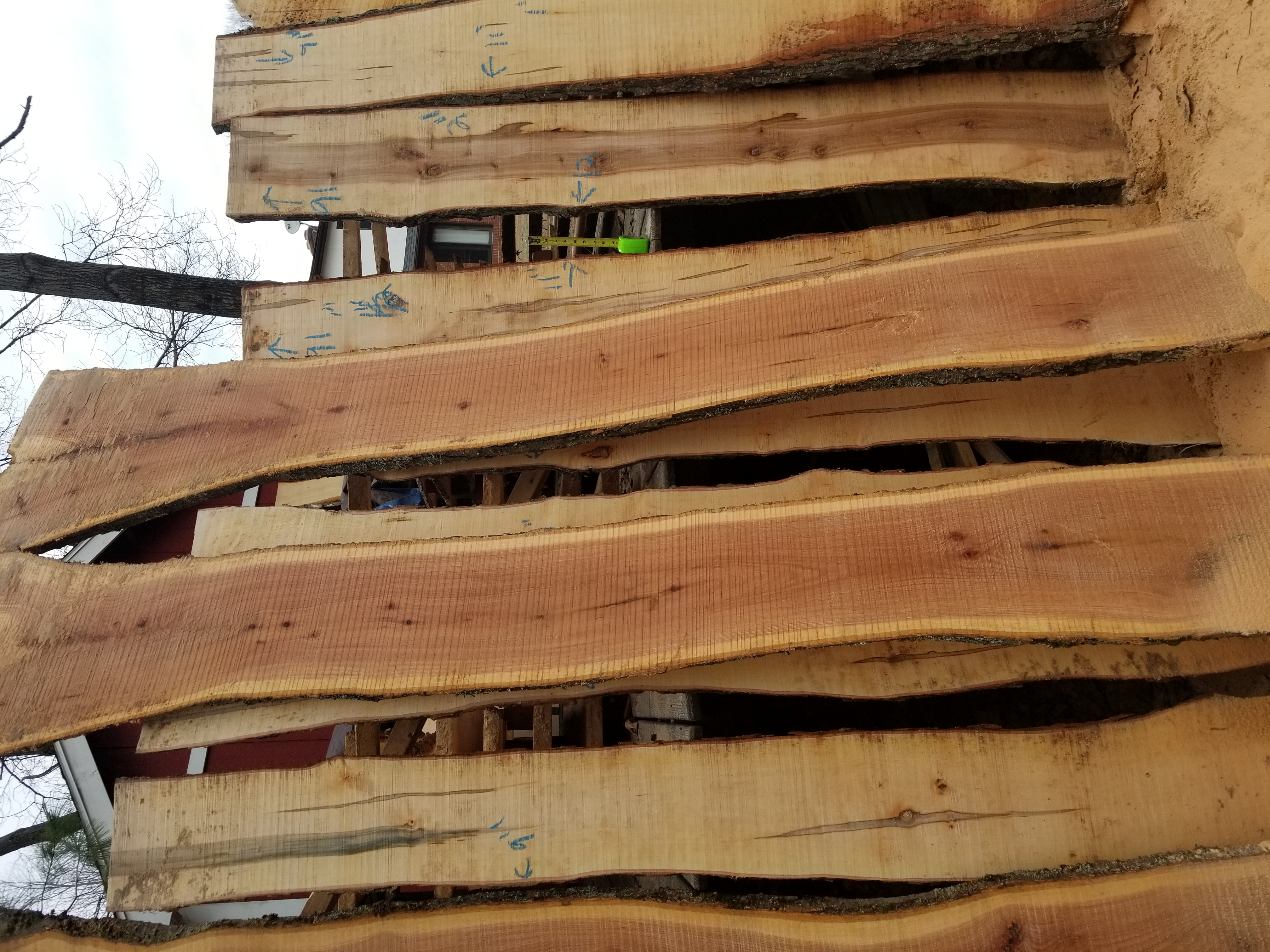 Red Oak Bar Tops