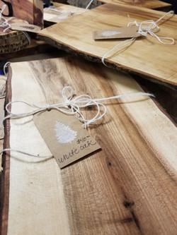 White Oak Cheese Board