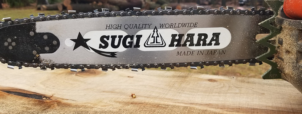 SugiHara Chainsaw Bars