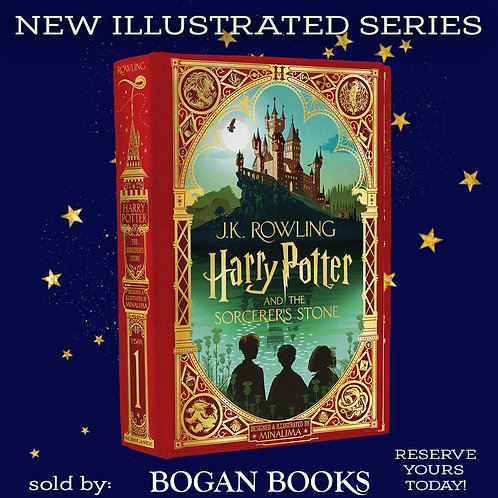 NEW! Harry Potter and the Sorcerer's Stone ILLUSTRATED