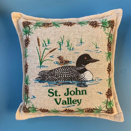 Balsam Pillow - 6x6 St. John Valley