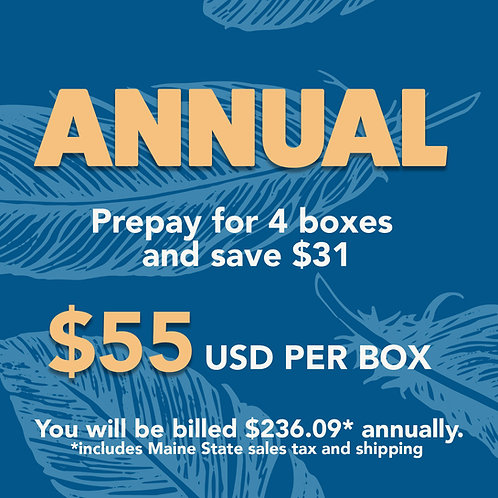 Annual Subscription Box