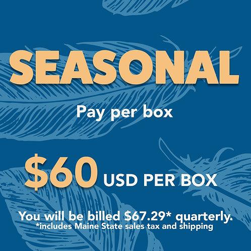 Seasonal Subscription Box