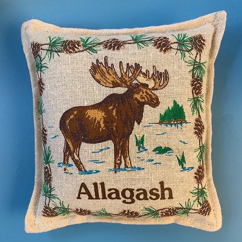 Balsam Pillow 6x6 Allagash
