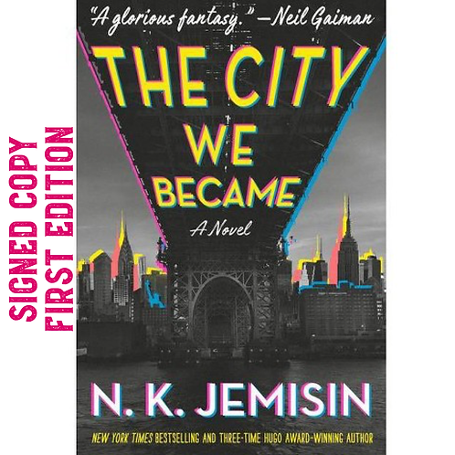 The City We Became - signed edition