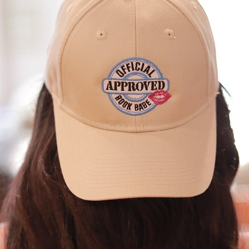 Official Approved Book Babe Hat-Stone Light (beige)