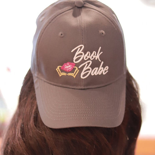 Book Babe Classic Hat-Dark Grey