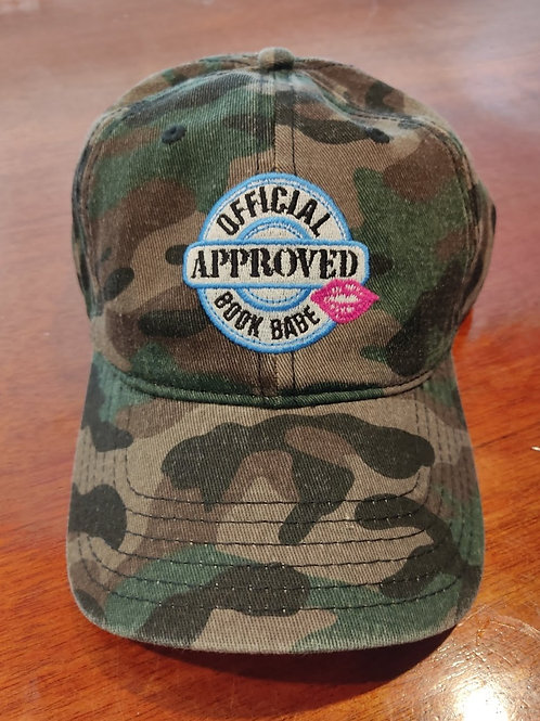 Official Approved Book Babe Hat-Camo