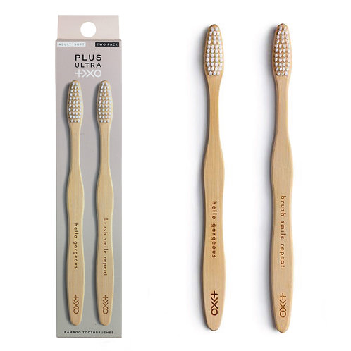 Live Plus Ultra Bamboo Toothbrushes