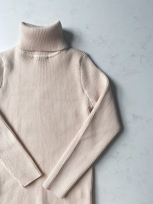 Pre-Order: Knitted Roll Neck Top