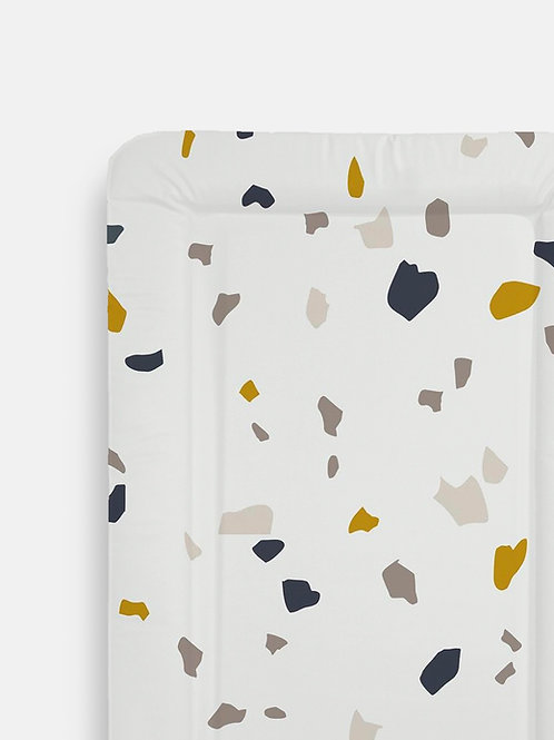 Navy Terrazzo Table Changing Mats