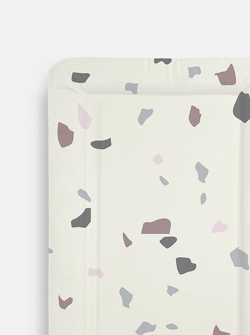 Pink Terrazzo Table Changing Mats