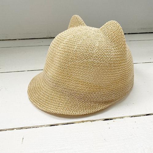 Bear Cub Straw Hat