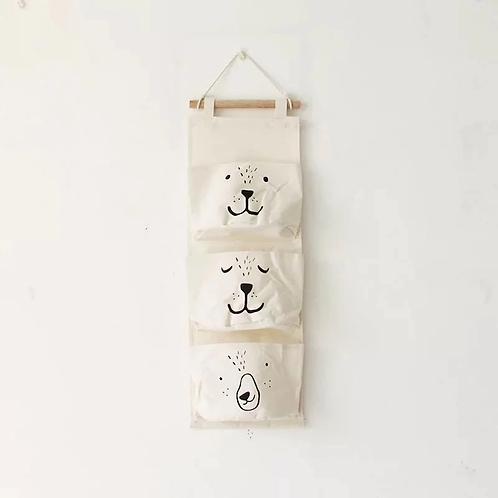 Ralphie Bear Hanging Wall Organiser