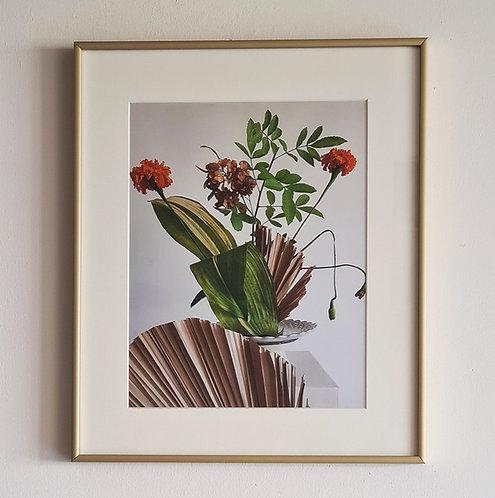 IKEBANA תמונת פרחים
