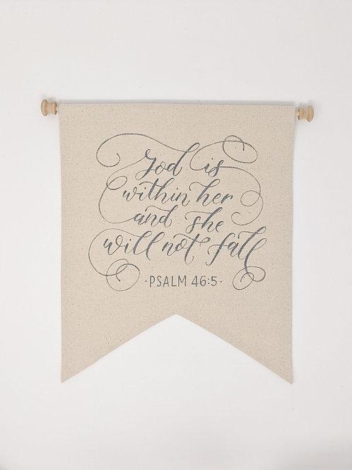 PSALM 46 Banner