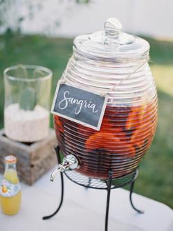 SANGRIA DRINK CANISTER LADEL