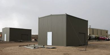 Metal Fabricated Office Building Smaller Square Footage LnL Fabrication