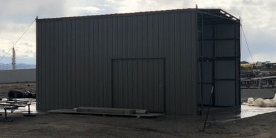 Workshop Fabricated Office Building Smaller Square Footage LnL Fabrication