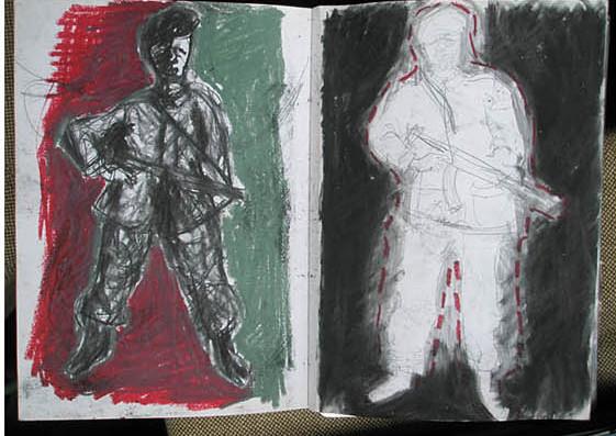 Renata Fernandez. Soldiers/Camouflage