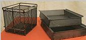 Steel Work Baskets