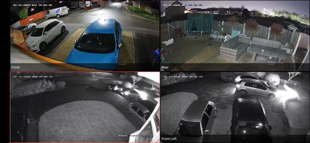 Colour images 24/7 comparison to Infra Red Cameras