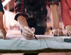 concrete construction workers