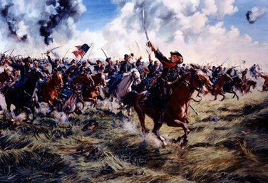 East and South Cavalry Field Gettysburg 2016