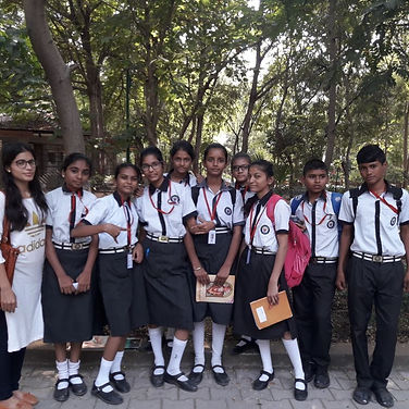 Vadiksha Scholars visit the Science City,
