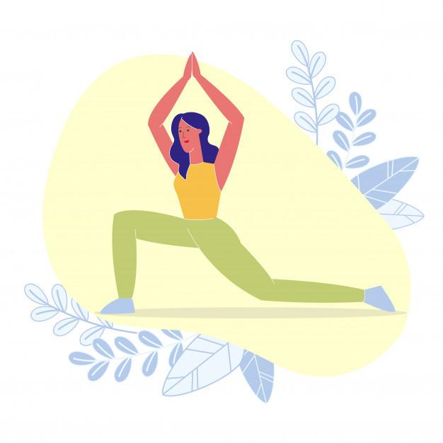 Yoga tra i fiori