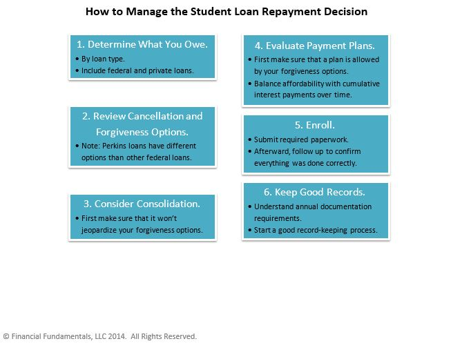 Student Loan Repayment Infographic