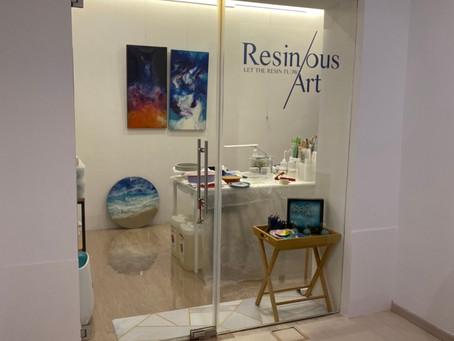 Resinous Art Studio Storefront