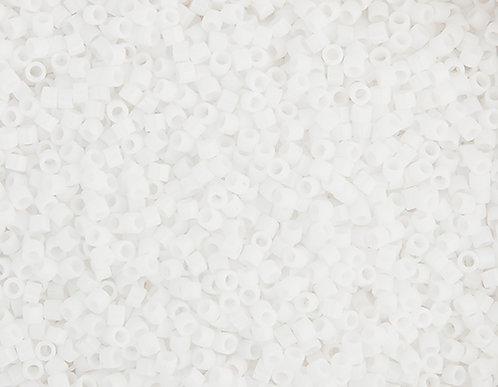 Miyuki Delica size 11/0 Chalk white