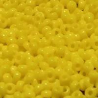 Yellow opaque 11/0