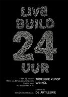 martine de jong, art, kunst, live build