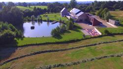 Château de Crawhez et son étang