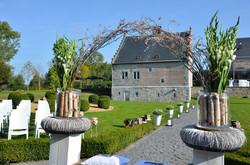 Château de Crawhez - son parc.