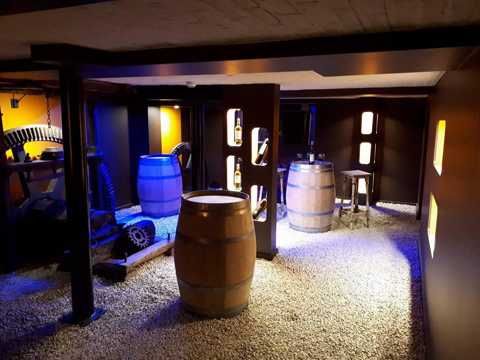 En sous-sol cave à vin